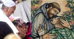 Pope Francis, St. Francis, Jean Vanier show us how to Heal Violence.
