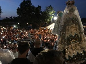 Friars host 5,000-7,000 Pilgrims